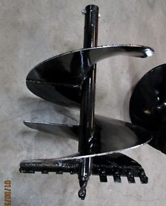 Mtl Attachments 48 X 30 Skid Steer Hd Auger Bit W 2 Hex Drive 159 Ship