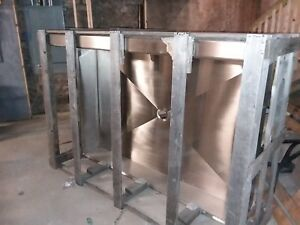Commercial Sink 6 Feet By 4 Feet By 10 Inches Deep