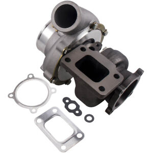 Water oil Cooled T3 Flange Gt35 Gt3582 A r 70 Anti surge Turbo Turbocharger New