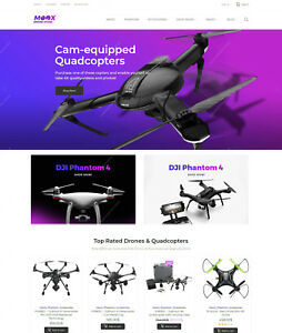 Create Electronics Drone Shop Online Build Ecommerce Shopping Websites