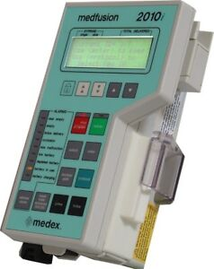 Medex Medfusion 2010i Syringe Pump Pole Clamp 1 Year Biomed Certified Warranty
