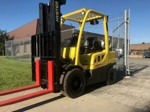 2012 Hyster H60ft Pneumatic Lp Forklift We Will Ship