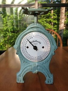 Hushallsvag Candy Scale Cast Iron And Porcelain Vintage Special Price Thru 1 19