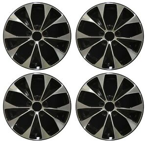 17 Honda Civic 2012 2013 2014 Factory Oem Rim Wheel 64025 Black Full Set