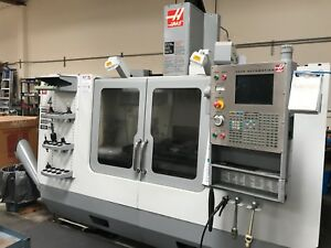 2005 Haas Vf 4d 10 000 Rpm Spindle Probe System Wired 4th Programmable Coola