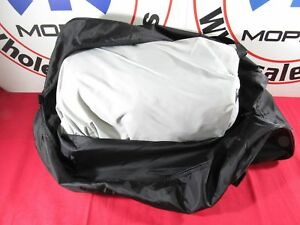 Dodge Challenger Hellcat Widebody Stormproof Gray W Logo Car Cover New Oem Mopar