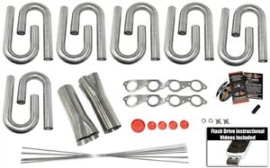 Big Block Chevy Custom Header Build Kit 2 Primary 3 Collector 304 Ss
