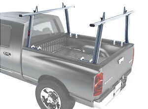 Aluminum 1000lbs Pick Up Truck Ladder Racks Contractor Lumber Utility Kayak