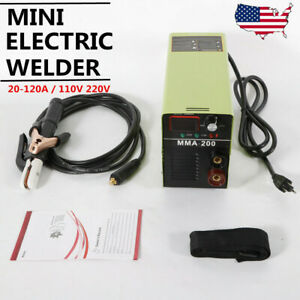 Mma 200 Mini Mma Arc Welder 4 7kva Welding Machine Solder Inverter 110v