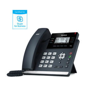 Yealink Sip t42s sfb 2 7 Backlit Lcd Sip Telephone With 12 Voip Accounts