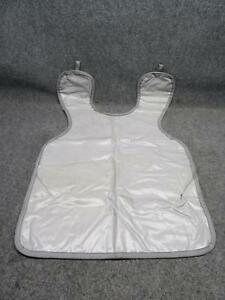 Gray Dentsply Rinn Apron Dental X ray Protective Patient Cover Shield