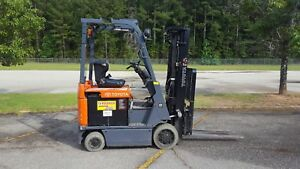 2014 Toyota 7fbcu18 Forklift Truck 189 4 way W side Shift Includes Charger