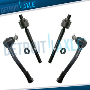 Front Inner Outer Tie Rod Kit For 2006 2012 2014 Kia Sedona 07 09 Entourage