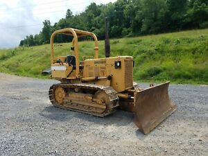 1979 Dresser Td8e Diesel Construction Tractor Dozer Bulldozer 6 Way Machine
