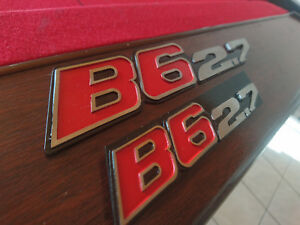 Bmw Alpina E30 B6 2 7 Badge Emblem Set