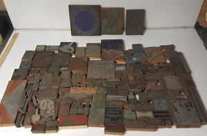 Vintage Letterpress Print Block Wood Advertisement Newspaper Lot 175 San Diego