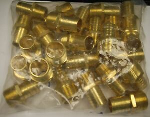 Brass Fittings Male Hose Barb Male Pipe 3 4 Hose Id 1 Qty 25