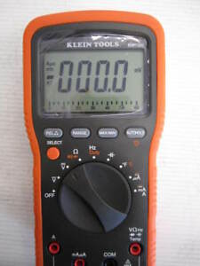 new Klein Tools Mm1300 Electrician s hvac Multimeter