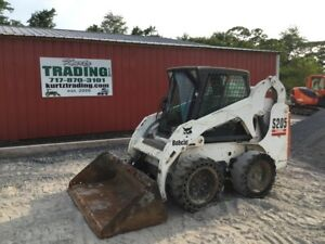 2005 Bobcat S205 Skid Steer Loader W Cab