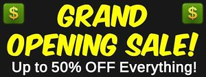 Banner Custom Made Outdoor W Grommets Pick Your Size Hi Resolution Full Color