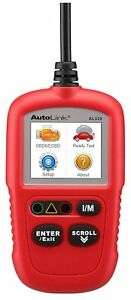 Autel Autolink Al329 upgraded Al319 Code Reader Obdii Scanner