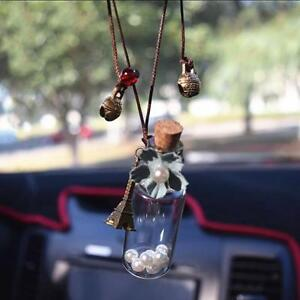 Beer Bottle Hanging Car Pendant Ornament Auto Decoration Perfume Empty Container