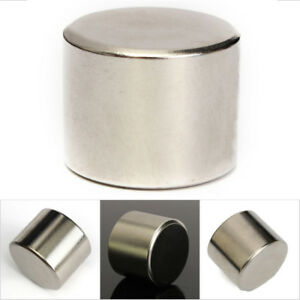 Super Strong Rare Earth Neodymium 25x20mm Round Cylinder Magnet Magnetic N52