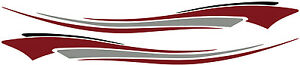 2 Rv Car Truck Trailer Side Accent Decals Graphics Stripes Vinyl Pb223