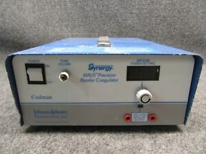 Codman Johnson Johnson 80 1187 Synergy Malis Precision Bipolar Coagulator