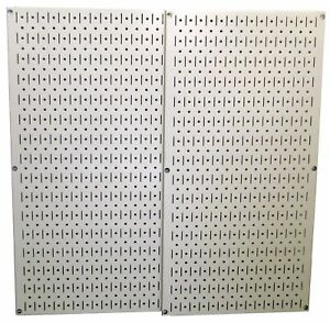 Wall Control 30 p 3232be Metal Pegboard Pack Beige