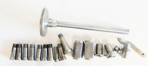 Atlas Craftsman 10 Lathe 3at Collets Draw Bar With Sleeve Adapters
