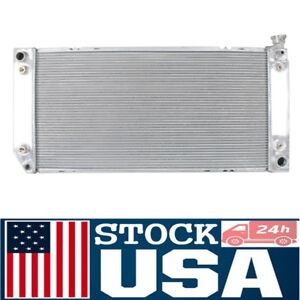 Full Aluminum Radiator For Chevrolet Cadillac Gmc k Series 5 7l V8 1693 At Mt Us