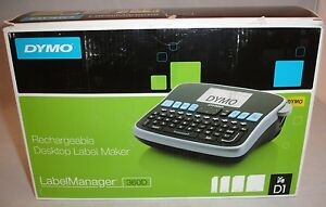Dymo Rechargeable Desktop Label Maker Label Manager 360d New In Box