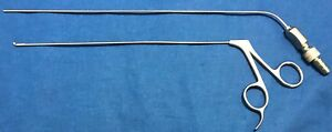 Microfrance Xomed Microlaryngeal Forceps 6fr Suction Mcls18r 3734109