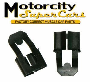 1964 72 All Gm Pontiac Olds Chevy Buick Door Lock Rod Clip Clips Hold Down Oem