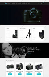 Create Camera Watch Shopping Themes Build Responsive E commerce Websites