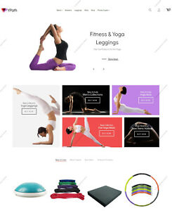 Create Yoga Shopping Themes Build Sports Responsive E commerce Websites
