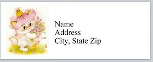 Personalized Address Labels Cute Little Cat Buy 3 Get 1 Free bx 966