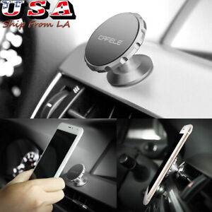 360 Magnetic Car Auto Mount Dashboard Stand Holder For Cell Phone Gps Universal