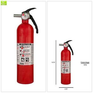 Multi Purpose Recreational Fire Extinguisher Wallmount Paper Liquid Safety 1pack