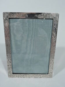 Deitsch Frame 125 Picture Photo Antique Edwardian American Sterling Silver