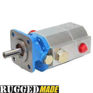 Hydraulic Log Splitter Pump 11 Gpm 2 Stage 3000 Psi Gear Pump For Wood Splitter