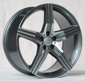 20 Wheels For Mercedes S class S550 S600 S63 S65 staggered 20x8 5 9 5