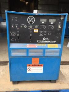 Miller Ac dc Cc Tig Welder 1ph 200 230 460v Syncrowave 500 With Watermate 1a