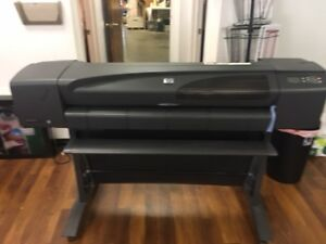 Hp Designjet 800 42 Large Wide Format Color Plotter Printer W hard Drive