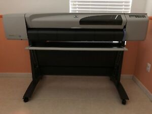 Hp Designjet 500 Plus 42 in Roll Printer In Excellent Condition