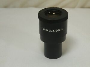 Olympus Microscope Eyepiece Ocular Whk 10x 20l h Used In Good Condition