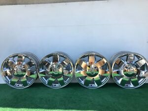2000 02 Cadillac Deville Dts Sts 17 Chrome Genuine Factory Oem Wheels Rims Set