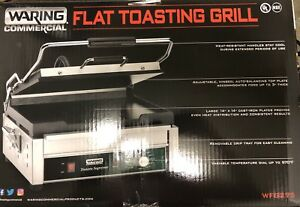 Waring Commercial Wfg275 Tostato Supremo 14 By 14 inch Flat Toasting Grill