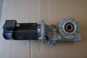 Drive Systems Av60b Dc W Varvel Rs 50 Speed Reducer Gearbox Electric Motor